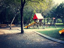 Playground. In Monterrey Royalty Free Stock Images