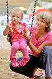 On the playground Stock Images