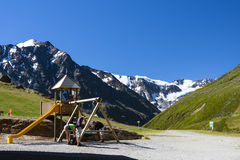 Playground in the Mountains Royalty Free Stock Photography