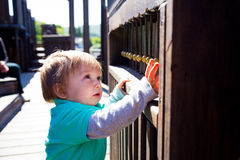 Playground Musical Instrument Royalty Free Stock Image