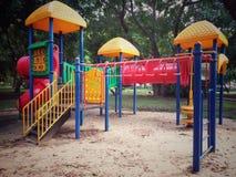 Playground. No kids here Royalty Free Stock Photos