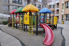 Playground in Nursery Stock Image