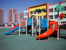 Playground in Nursery Royalty Free Stock Photography