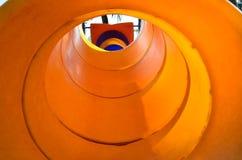 Playground. Orange beautiful toy in playground royalty free stock images