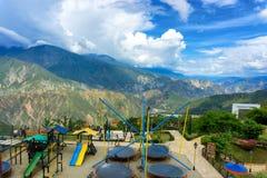 Playground in Panachi Stock Photography