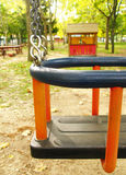 Playground in the park Royalty Free Stock Photo