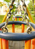 Playground in the park Stock Photography