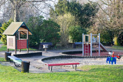 Playground in Park Royalty Free Stock Photos