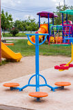 Playground in Park Stock Photography