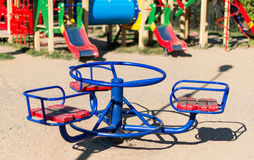 Playground in the park Royalty Free Stock Images