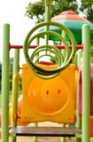 Playground at the park Stock Image