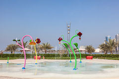 Playground park in the city of Sharjah Royalty Free Stock Photography