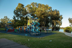 Playground at Park Stock Images