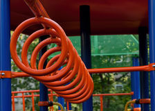 Playground in park. Part of Playground in park Royalty Free Stock Images