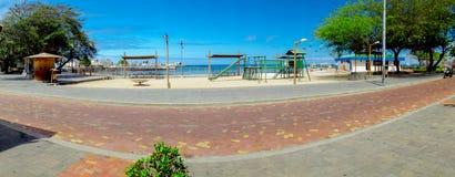 Playground park in san cristobal galapagos Stock Photography