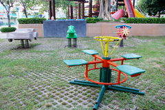 Playground. A picture of playground at the city park, Suphanburi  province, Thailand Stock Photography