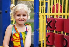 Playground Portrait Royalty Free Stock Photo