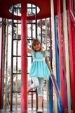 Playground Posing Royalty Free Stock Image