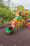 Playground. At public park with nature Royalty Free Stock Photo