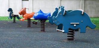 playground rides Στοκ φωτογραφία με δικαίωμα ελεύθερης χρήσης