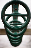 Playground rings Stock Image
