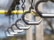 Playground rings Stock Images
