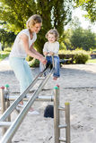 On the playground, rocker Royalty Free Stock Images