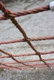 Playground rope royalty free stock photography