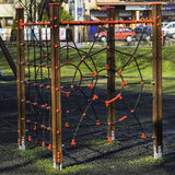 Playground with ropes Stock Photos