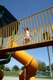 Playground running Stock Photos