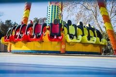 Playground safety seat Royalty Free Stock Photos