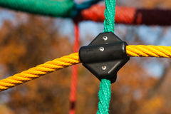 Playground saftey rope Royalty Free Stock Photography