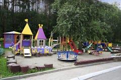 Playground in the Sanatorium Russia Stock Image