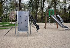 Playground and sandpit Royalty Free Stock Image