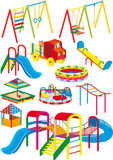Playground set stock illustration