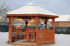 Playground shade Stock Photography