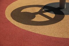 Playground Shadow Stock Photography