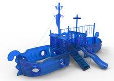 Playground ship Stock Photos