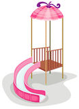 Playground slide Royalty Free Stock Image