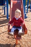 Playground slide Royalty Free Stock Photo