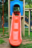 Playground slide Stock Photography