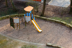 The playground for with slide Royalty Free Stock Photos