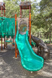 Playground Slide Stock Photo