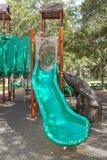 Playground Slide Stock Photo