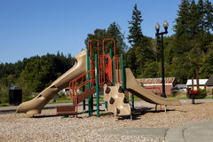 Playground Slide Royalty Free Stock Image