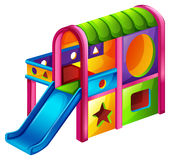A playground slide Royalty Free Stock Image