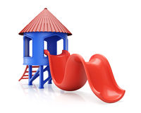 Playground slide Stock Images