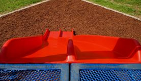Playground Slides Royalty Free Stock Images