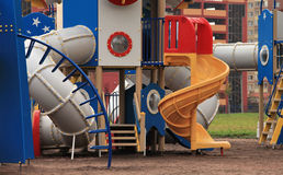 Playground spaceport Stock Images