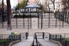 Playground square Royalty Free Stock Photo